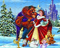 Beauty and the Beast Sort My Jigsaw
