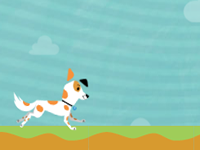 Dog with a Blog Chew Toy Chase