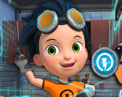 Rusty Rivets Combine It and Design It