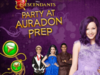 Descendants Party at Auradon Prep