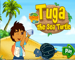 Diego Tuga the Sea Turtle