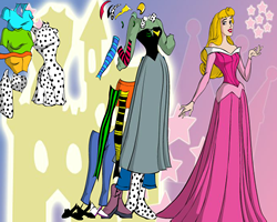 Dressup Sleeping Beauty