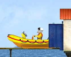 Fireman Sam Lifeboat Launch