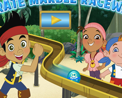 Jake and The Pirates Marble Raceway
