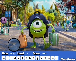 Monsters University Hidden Letters