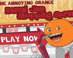 annoying orange games play free online