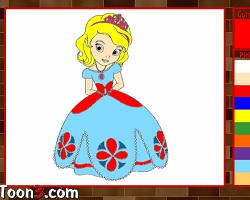Sofia The First Kids Coloring