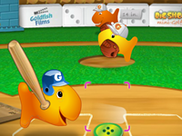 Goldfish Fun Super Slugger Basebal