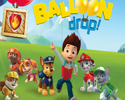 Paw Patrol Balloon Drop
