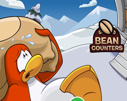Club Penguin Bean Counters