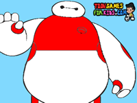 Big Hero Baymax Coloring