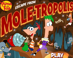 Escape From Mole Tropolis