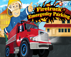 Firetruck Emergency Parking