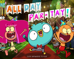 Harvey Beaks All Day Par Tay