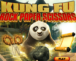 Kung Fu Rock Paper Scissors