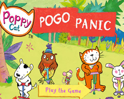 Poppy Cat Pogo Panic