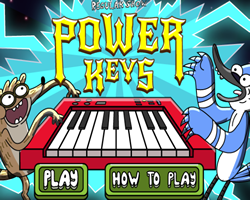 Regular Show Power Keys