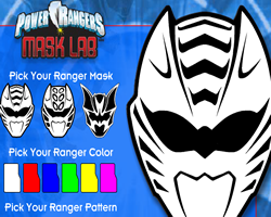 Power Rangers Mask Lab
