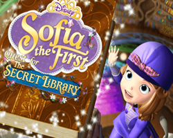 Sofia the First and the Secret Library