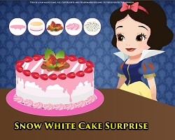 Snow White Cake Surprise