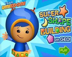 Super Shape Building with Geo