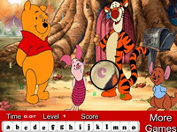 Winnie The Pooh Hidden Letters